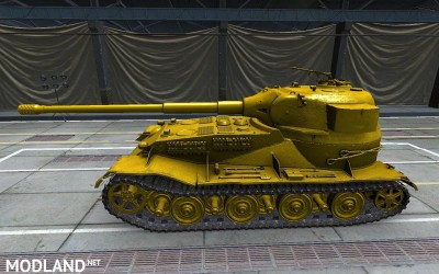 Pzkpfw VII shiny gold skin (made for SD client) 5 [1.2.0], 2 photo